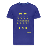 T-Shirts ~ Men's Premium T-Shirt ~ 4-4-2 - Men's T-Shirt