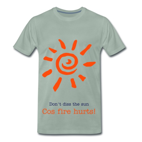Fire Sun - Men's Premium T-Shirt