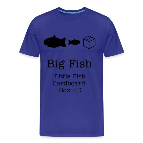 Big Fish , Little fish T-shirt - Men's Premium T-Shirt
