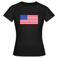 T-shirts ~ Vrouwen T-shirt ~ USA
