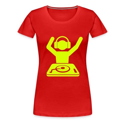 Frau Mischpult - Frauen Premium T-Shirt