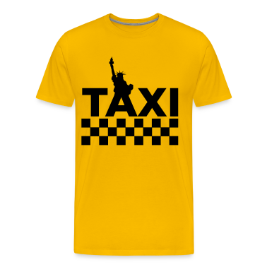 Yellow New York Taxi 1 (2c, NEU) Men's T-Shirts