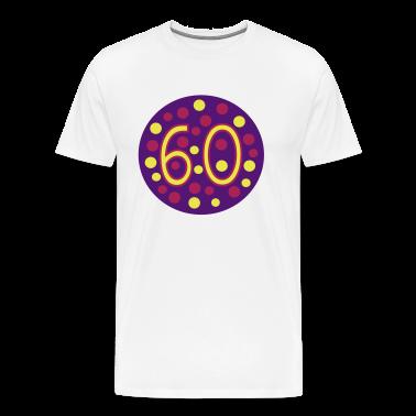 White 60th birthday Men's T-Shirts