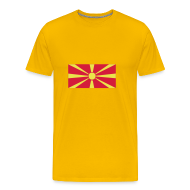 T-shirts ~ Mannen Premium T-shirt ~ Macedonie