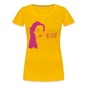 Zoe - Original  - Women's Premium T-Shirt
