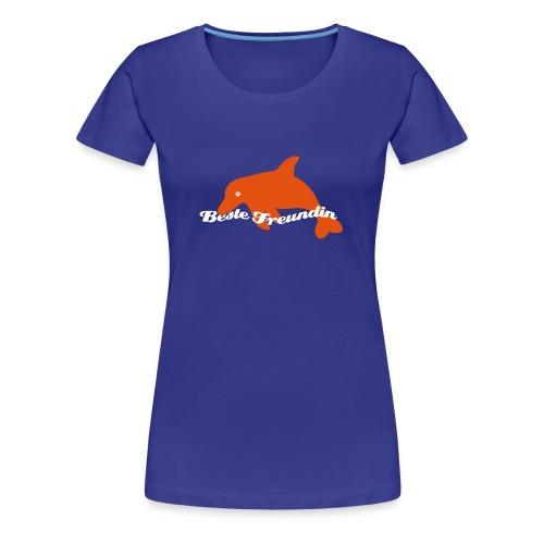 Beste Freundin-Shirt - Frauen Premium T-Shirt