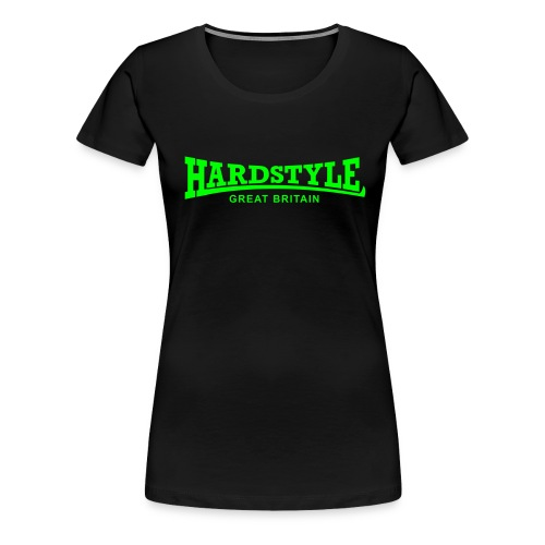Hardstyle Great Britain - Women's Premium T-Shirt