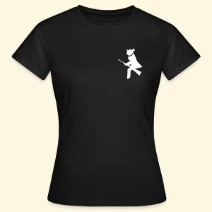 Jägerin Shirt Jagdhexen-Logo - Frauen T-Shirt