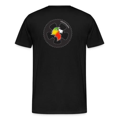 [ bbb logo und text ] Big Shirt - schwarz - Männer Premium T-Shirt