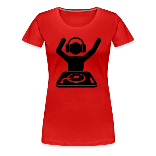 Put your hands up - Women's Premium T-Shirt