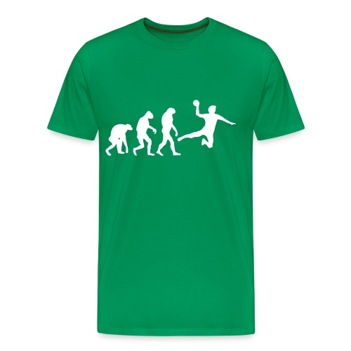 handball vs. fotball - Premium-T-shirt herr