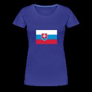 T-shirts ~ Vrouwen Premium T-shirt ~ Slowakije