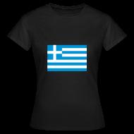 T-shirts ~ Vrouwen T-shirt ~ Griekenland