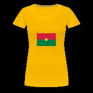 T-shirts ~ Vrouwen Premium T-shirt ~ Burkina