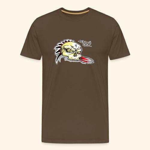 Tshirt Homme Tribal Skin - T-shirt Premium Homme