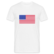 T-shirts ~ Mannen T-shirt ~ USA