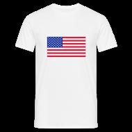 T-shirts ~ Mannen T-shirt ~ USA