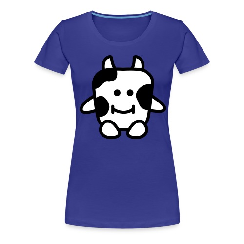 Women's Cow T-Shirt - Women's Premium T-Shirt