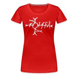 Dameskjorte - Premium T-skjorte for kvinner