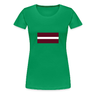 T-shirts ~ Vrouwen Premium T-shirt ~ Letland