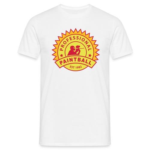 Sand prof_paintball_2 T-Shirts - Männer T-Shirt