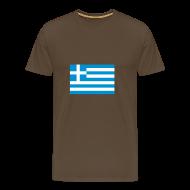 T-shirts ~ Mannen Premium T-shirt ~ Griekenland