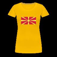 T-shirts ~ Vrouwen Premium T-shirt ~ Macedonie
