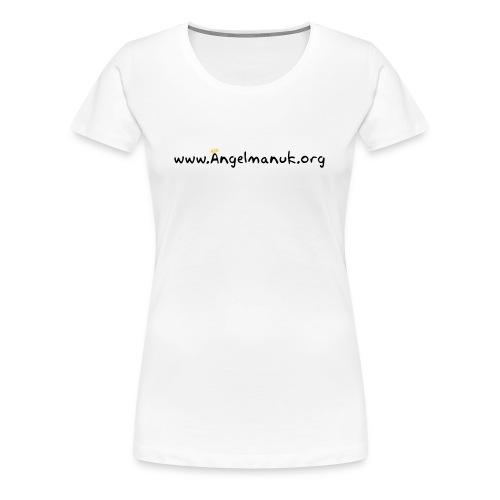 Women's web-logo fitted shirt - Women's Premium T-Shirt