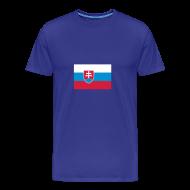T-shirts ~ Mannen Premium T-shirt ~ Slowakije
