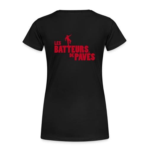 T-shirt noir basique Femme - T-shirt Premium Femme