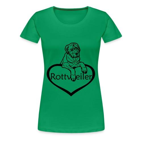 Damen T-Shirt Rottweiler - Frauen Premium T-Shirt