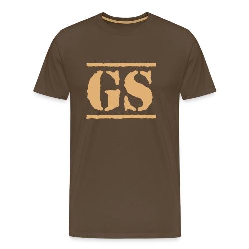GS Stencil 1 - Männer Premium T-Shirt
