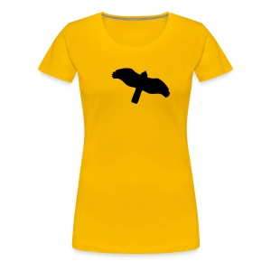 Greifvogel-Silhouetten - Frauen Premium T-Shirt
