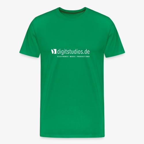 digitstudios.de khaki/white - Männer Premium T-Shirt