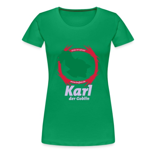 Karl_der_Goblin_22_85 - Frauen Premium T-Shirt