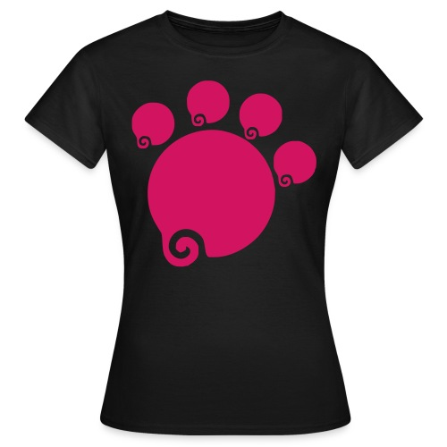 Pfoten weg - Frauen T-Shirt