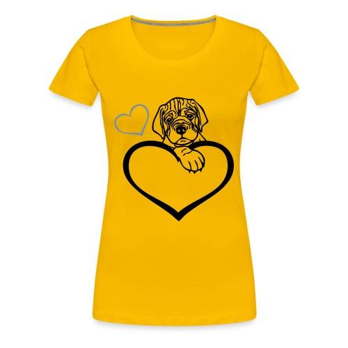 Damen T-Shirt Dog - Frauen Premium T-Shirt
