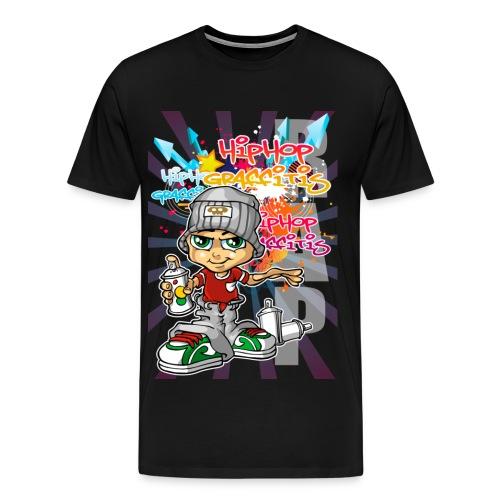 Graffitis and spray - Men's Premium T-Shirt