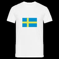 T-shirts ~ Mannen T-shirt ~ Zweden