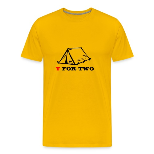 T for Two - Men's Premium T-Shirt