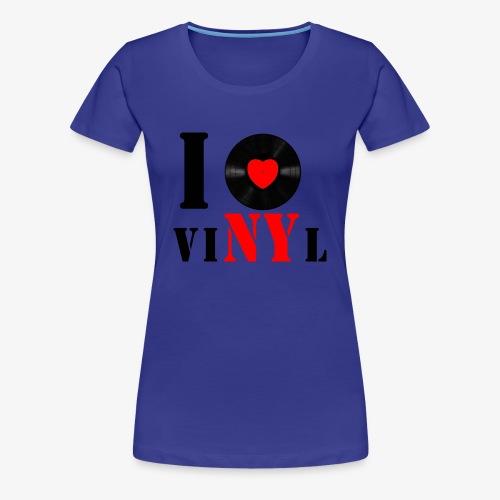 Frauen Klassik VINYL COLOR - Frauen Premium T-Shirt