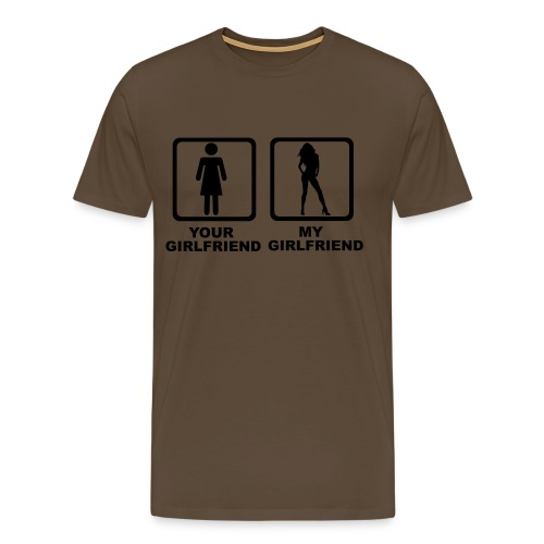 girlfriend - Camiseta premium hombre