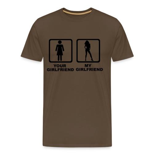 girlfriend - Camiseta premium hombre