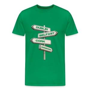 Dublin Belfast Cork & Donegal - Men's Premium T-Shirt