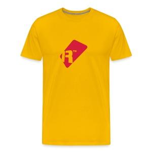 Men's T-Shirt - Red Renoise Tag - Men's Premium T-Shirt