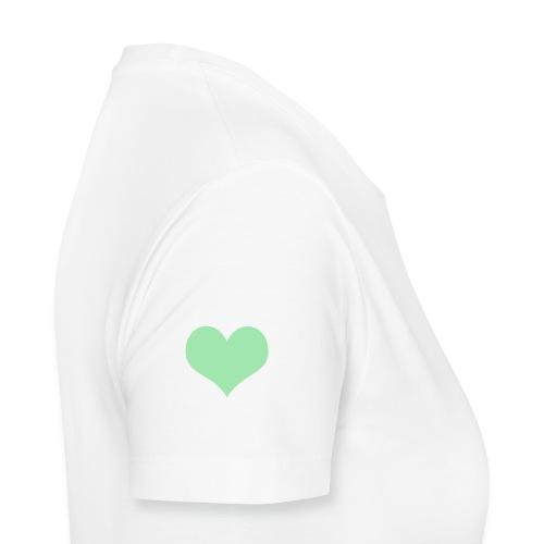 Heart Blanco - Frauen Premium T-Shirt