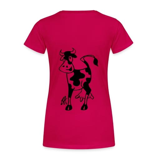 Dame premium T-shirt - vestmark,vegetar,trøje,t-shirt,sucks,sort,sophie,pink,meat,jensen,black