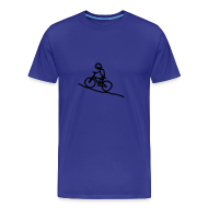 T-Shirts ~ Männer Premium T-Shirt ~ T-Shirt snafuradler blau