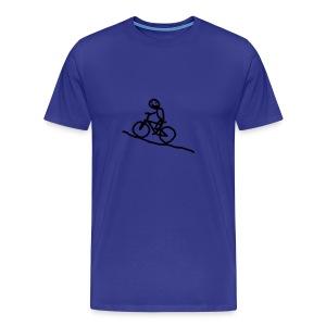 T-Shirt snafuradler blau - Männer Premium T-Shirt