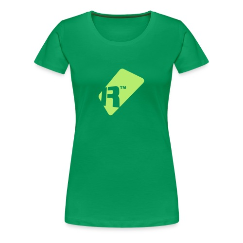 Girlie T-Shirt - Light Green Renoise Tag - Women's Premium T-Shirt